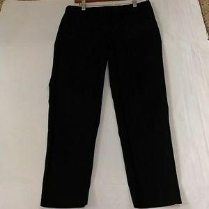 ELLEN TRACY BLACK DRESS PANTS SIZE 4 EMPS67027